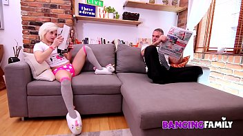 Banging Family - Bratty Step-Daugther Teasing Daddy All Day Long !