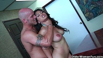 Older asian hardcore - Asian milf jessica bangkok takes cumload in mouth