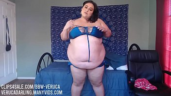 Hot latina BBW wants to get fatter!