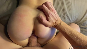 Sister's friend seduced me with big tits and juicy ass