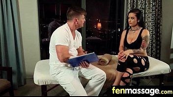 Sexy Masseuse Helps with Happy Ending 30
