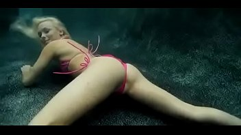Lovely and wonderful sex under water