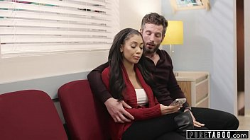 Horny Pregnant Wife Gets Creampied by 2 Different Guys at Doctors Office