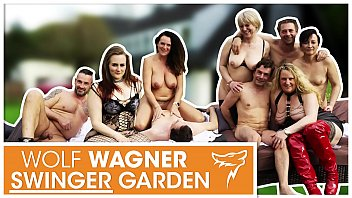 Swinger Party! HOT German MILFs get fucked by random men! WolfWagner.com