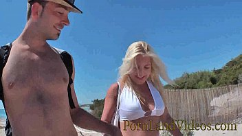 outdoor anal fuck with young blonde slut