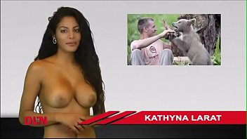 Fake nude picks of news babes Larat tv news