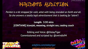 [STEVEN UNIVERSE] Peridot's Audition | Erotic Audio Play By Oolay-Tiger