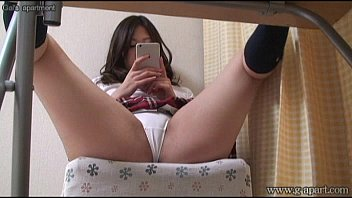 Hidden cam under desk japanese babe