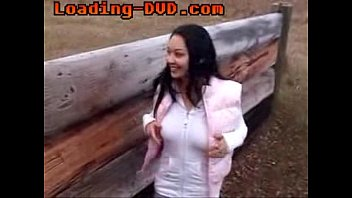 Young spanish slut fucked and facialed outdoors