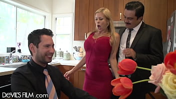DevilsFilm My Boss' Horny Wife Alexis Fawx Fucked Me In Front of Him!!