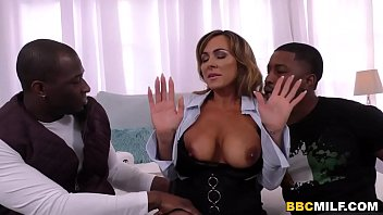 Gushing squirting cunts - Busty milf aubrey black squirts on a big black cock