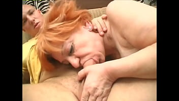 Hey My Grandma Is A Whore #27 - Old whores are fucked by the young dude