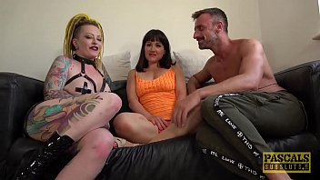 Two hot MILFs dominated by Pascal White