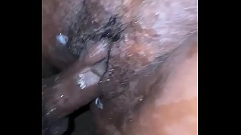 BBC makes ebony pussy cream and squirt all over!
