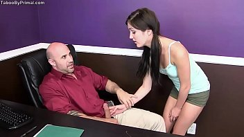 Fuck with daddy xxx Renee roulette- movie night with daddy