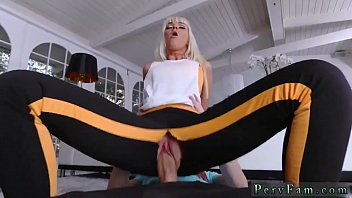 Stressed out milf gets massage Stretching Your Stepmom