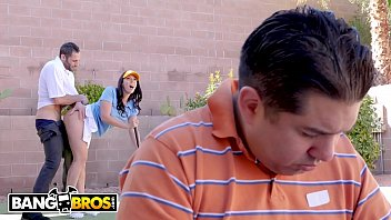 Asian pulp and paper Bangbros - rachel starr fucks her golf instructor while her cuck husband reads the paper