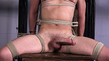 """Young Monster Cock Edging in Gay BDSM Bondage Dungeon - Aiden Ward - DreamBoyBondage.com <span class=""""duration"""">11 min</span>"""
