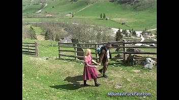busty german MILF needs hard anal sex in the mountains thumbnail