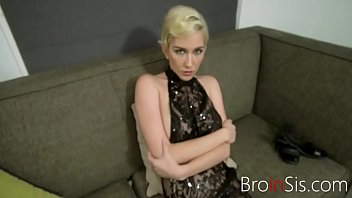 Getting My Hot Blonde Sister To Fuck Me By Blackmail- Skye Blue thumbnail