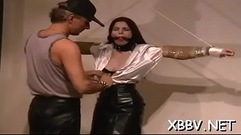 Full bdsm tit t. with hot woman acting flexible