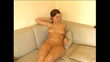 Cute lesbian girls playing on the couch