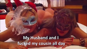 My Husband and I fucked my cousin all day - complete on RED