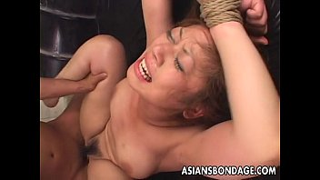 tied up asian babe gets fucked long and hard min