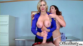 Big Round Tits Girl (Alison Tyler & Julia Ann) Realy Like To Bang In Office movie-02