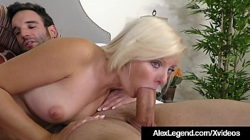 Hot Babe Alessandra Noir Swallows Big Load From Alex Legend!