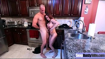Big Melon Tits Housewife (Diamond Foxxx) Enjoy Hard Sex On Camera clip-14