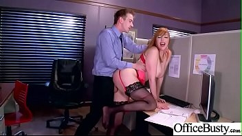 Sex Tape In Office With Sluty Big Juggs Hot Girl (Lauren Phillips) video-16