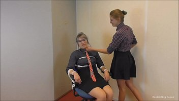 Office girls the bondage payback 14 min