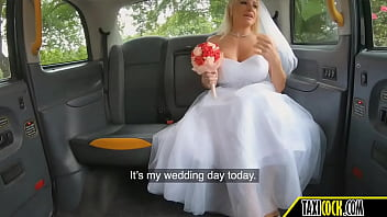 the bride with perfect tits