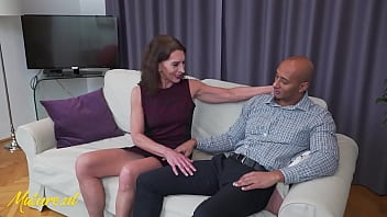 Skinny Mature Wife Got Suprised By Her Husband's Bestfriend 11 min