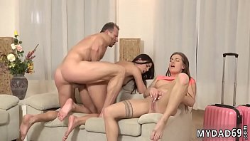 Chubby old women Mom's 2 duddy's daughters getting nasty in her