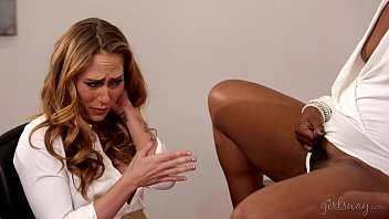 Chanell Heart and Carter Cruise having a special interview