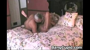 Mature toys her pussy and gets fucked