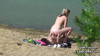 Couple Fucks Hard on the Beach and Perverse Films it