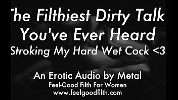 Audio porn tape Stroking my big cum-covered cock talking dirty feelgoodfilth.com - erotic audio for women