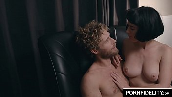 PORNFIDELITY Olive Glass Intimate Interview and Fuck