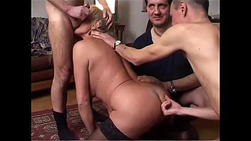 Nice grandmother sucks cock