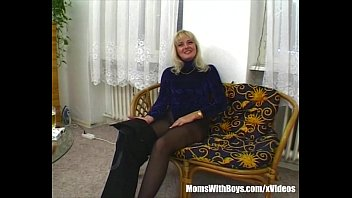 Blonde And Horny Milf Bombshell Suck And Fucks My Dick