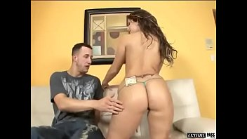 Nikkie Vixen Takes 12 Inches Of Huge White Cock Like A Magician
