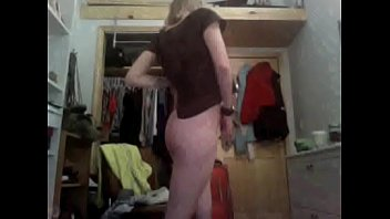 Naughty Lady Twirls and Flashes Nude on Cam
