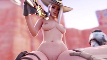 See That Booty Bounce ~ An Overwatch ASHE HMV/PMV