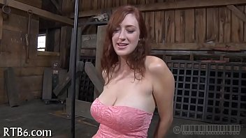 Agony for babe's nipples