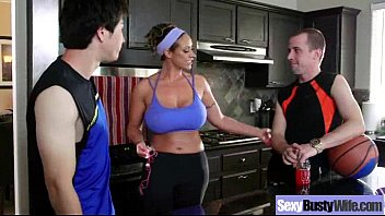 Big Tits Housewife (eva notty) In Front Of Cam In Amazing Sex Action clip-15