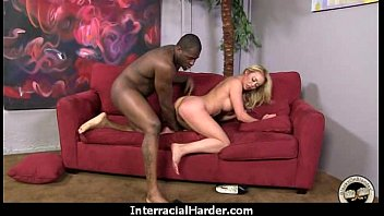 Huge black cock takes little white ass 21