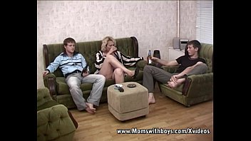 Boy fucked by mother Blonde mature double teamed by young boys